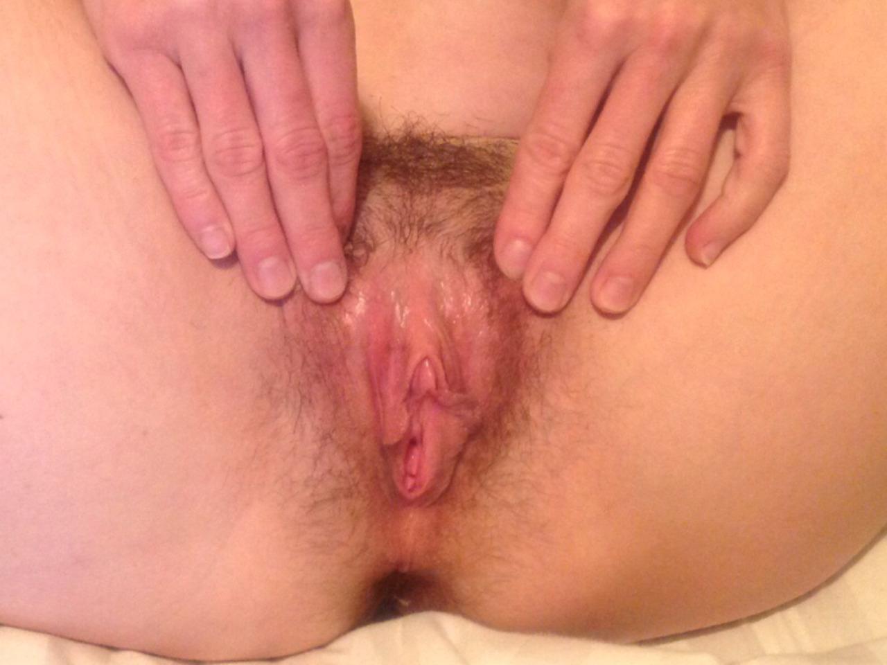 extrem behaarte vagina