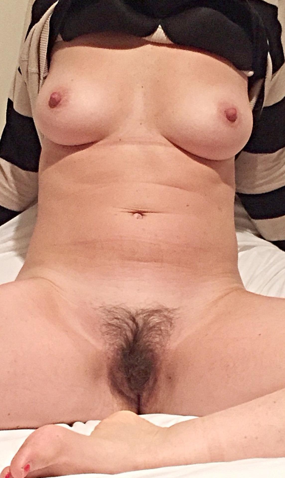 Feuchte Vulva