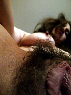 Eine Besonderheit : Eine unrasierte Muschi